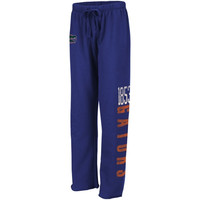 Florida Gators Ladies Cozy II Fleece Pants - Royal Blue