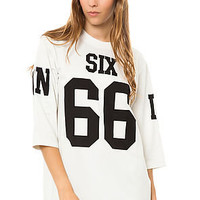 UNIF Shirt Six Jersey in White