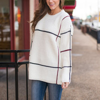Frame Of The Game Sweater, Ivory