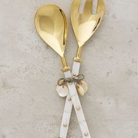 Belleville Serving Set by Anthropologie in Ivory Size: Serving Set Serveware