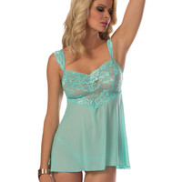 Lace Cap Sleeve Baby Doll