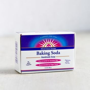 Heritage Store Baking Soda Soap-