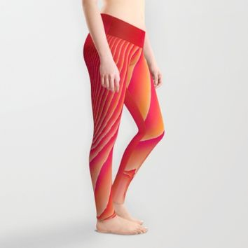 Sorbet Melt Leggings by Ducky B