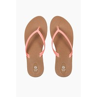 Scout Toffee Sole Sandals - Pink/Brown