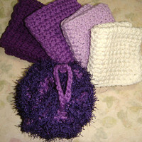 Spa Bath Set, Bath and Body Set, Bath and Beauty Set, Housewarming Hostess Gift, Cotton Wash Cloths, Kitchen Cloth Set Dish Cloths Dish Rags