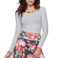 Nollie Long Sleeve Cropped Tee at PacSun.com