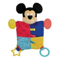 Disney's Mickey Mouse Teether Blanket by Kids Preferred - Baby Boy