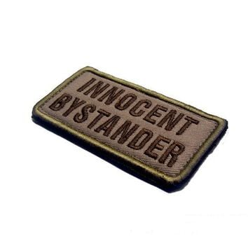 innocent by stander patches hook&loop morale US army combat tactical  Military Patches  for jacket vest