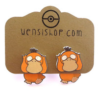 Psyduck (Pokemon Inspired) Cling Earrings
