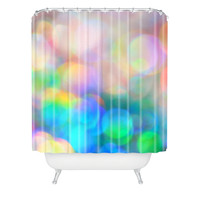 Lisa Argyropoulos Color Me Happy Shower Curtain