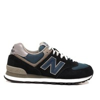 DCCKGQ8 new balance 574 navy athletic sneaker