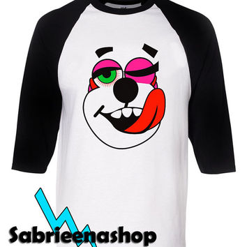 miley cyrus shirt twerk bear raglan tee for man and woman