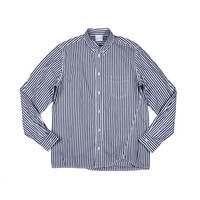 U Clothing Mens Striped Long Sleeves Button-Down Shirt
