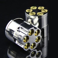 Bullet Shape Metal Herbal Herb Cigar Tobacco Grinder Smoke Crusher Hand Muller Stainless Steel Grinder