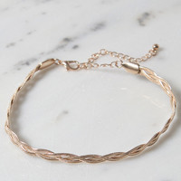 LA Hearts Braided Snake Chain Anklet at PacSun.com