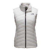 The North Face Mossbud Swirl Reversible Vest for Women in Vaporous Grey NF0A2VFX-EY8