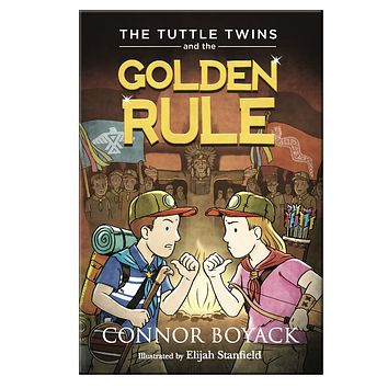 The Tuttle Twins and The Golden Rule Paperback Book