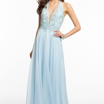 Beaded Halter Dress from Camille La Vie and Group USA
