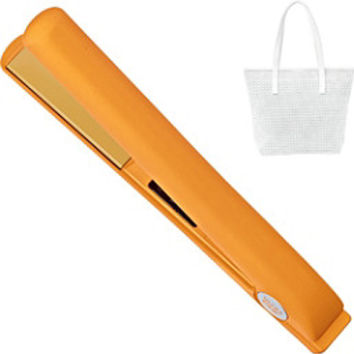 Ultra CHI Spring Orange Flat Iron & Hair Straightener | Ulta Beauty