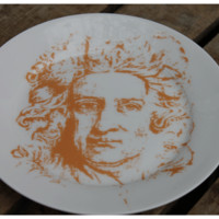 Isaac Newton Side Plate