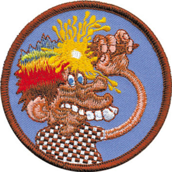 Grateful Dead - Ice Cream Kid Patch