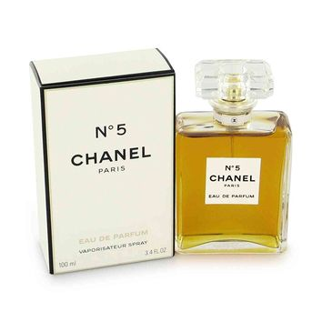 No. 5 by Chanel for Women, Eau De Parfum Spray, 3.4 Ounce