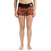 Cincinnati Bengals Womens Thematic Bootie Shorts