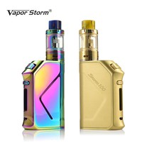 Original 100W Electronic Cigarette Vapor Storm TC Vape Fast Charge Box Mod 3200mah Top Refill Tank 0.2ohm 2mL Elektronik Sigara