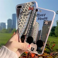 Cartoon Minnie Mouse Silicone Case For IPhone