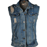 Ripped Pocket Vest