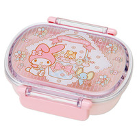 My Melody Bento Lunch Case Lunchbox Tiffin Box DXS Flower SANRIO JAPAN