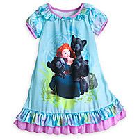 Merida and Cubs Nightshirt for Girls