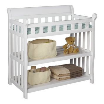 Delta Eclipse Changing Table, White