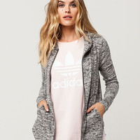 FULL TILT Brushed Knit Womens Zip Hoodie | Sweatshirts + Hoodies