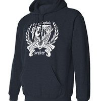 Seeker Crest - Get the Snitch, Harry Potter Inspired Hoodie Sweat Shirt