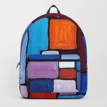 Composition Backpack by mariameesterart