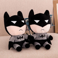 1pcs 2015 new Cartoon Batman doll plush toys for Kids Birthday Gift  pokemon minion toy exported to Europe CE = 1927971460