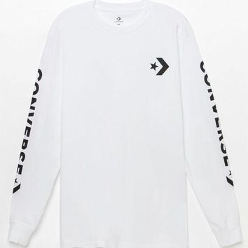 CREYONDI5 Converse Star Chevron Long Sleeve T-Shirt