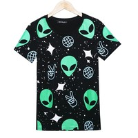 Vogue Alien T-shirt grahpic tees