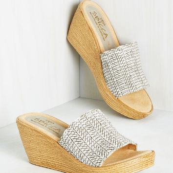 Sunny Slide Up Wedge | Mod Retro Vintage Heels | ModCloth.com