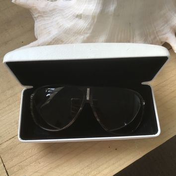 Versace Sunglasses Authentic Brown Frame Used Women's