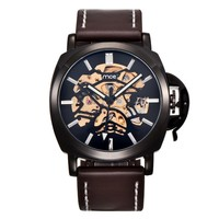 Designer's Good Price Gift Trendy Stylish New Arrival Awesome Great Deal Leather Men Watch [10757664835]