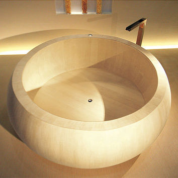 Ultra Relaxing Hinoki Cypress Bathtub
