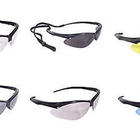 Radians Rad-Apocalypse Safety Eye Protection Eyewear Work Glasses w/Cord AP1