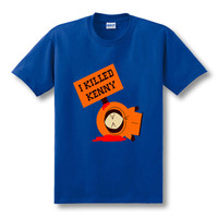 I Killed Kenny South Park Cartoon Printed t shirt for men