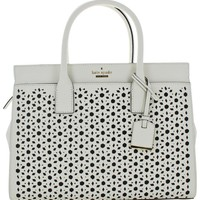 Kate Spade Cameron Candace Perforated Leather Handbag