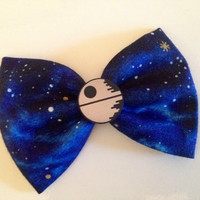 Star wars death star hair bow