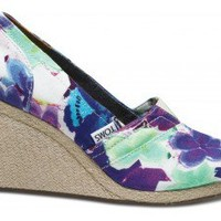 Purple Corbel Women's Wedges | TOMS.com