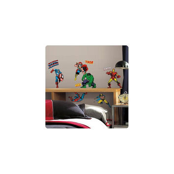 Marvel Classics Superheroes Wall Decals