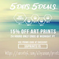 15% off by ALLY COXON | Society6